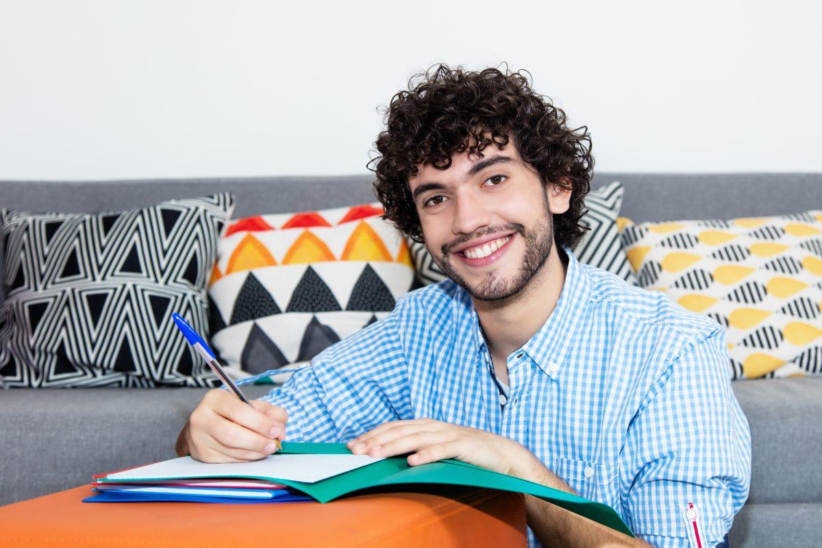 Lernen und studieren bequem von daheim